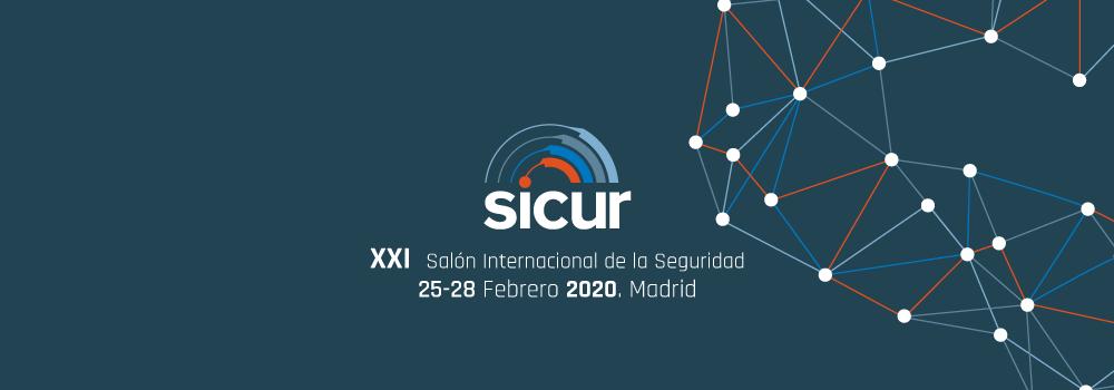 Vamos a estar presentes en el SICUR 2020 en Madrid